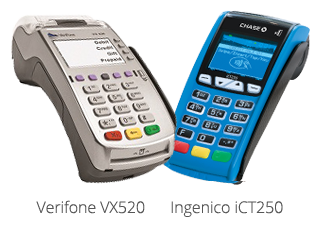 Ingenico iCT250 and Verifone VX520